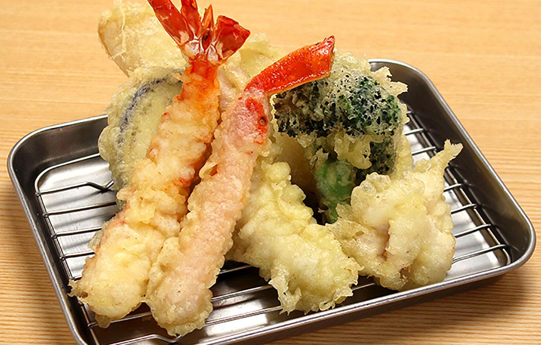 揚げたて天ぷら 海鮮 よし平