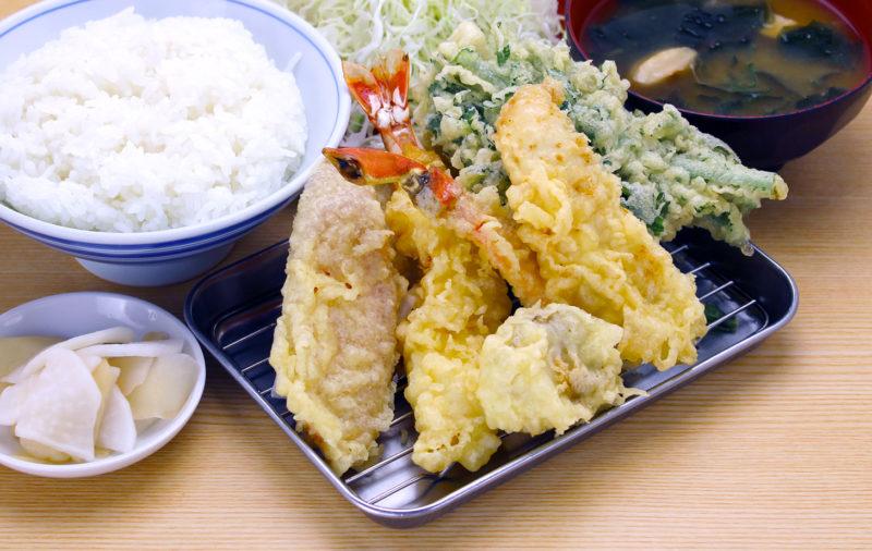 期間限定!冬のご馳走と季節野菜の天ぷら膳