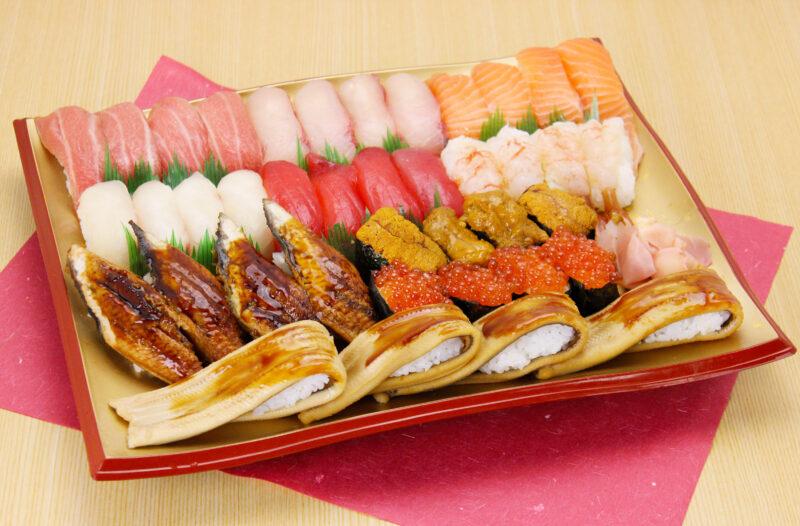 お持ち帰り「傳八特撰寿司盛り」始めました!
